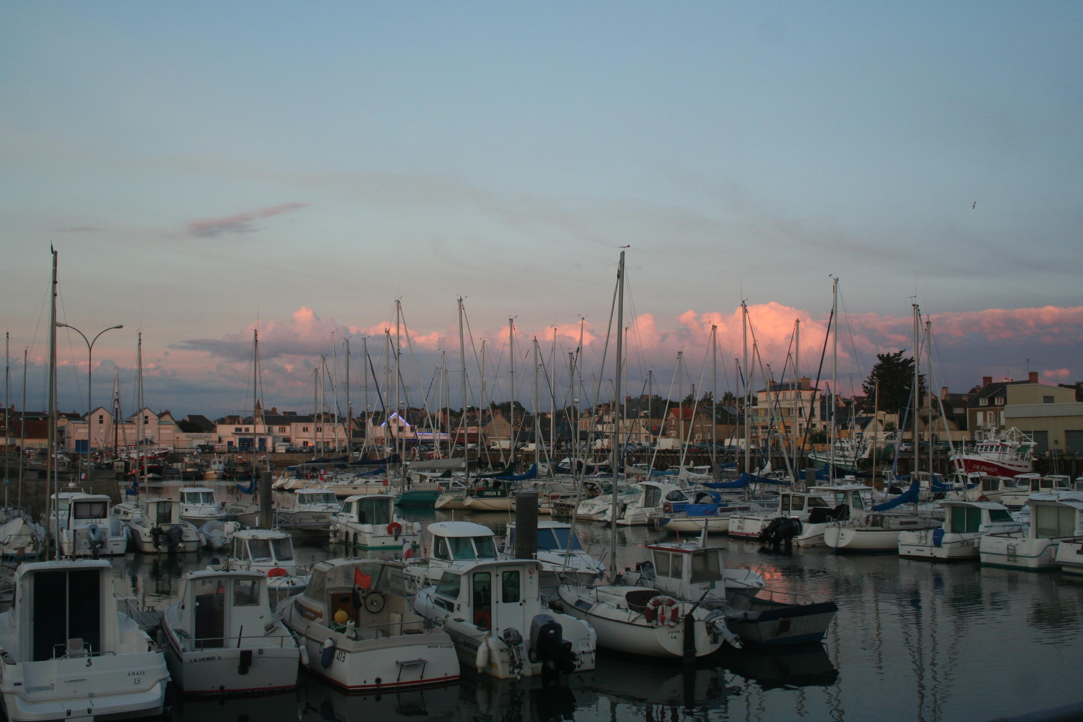 Grandcamp Maisy - Le port de plaisance